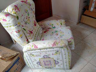 sillón extensible