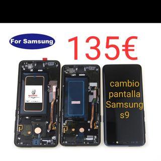 Cambio pantalla Samsung s9