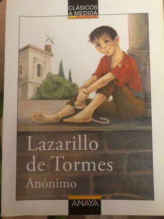Libro de lectura Lazarillo de Tormes