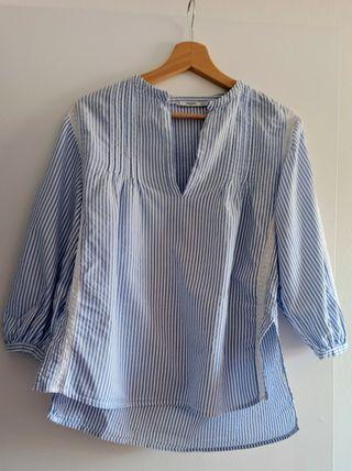 Blusa de algodón 100% con bordado.
