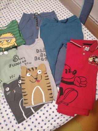 lote ropa niño 2-4