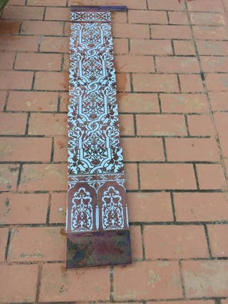 Azulejos sevillanos de cobre