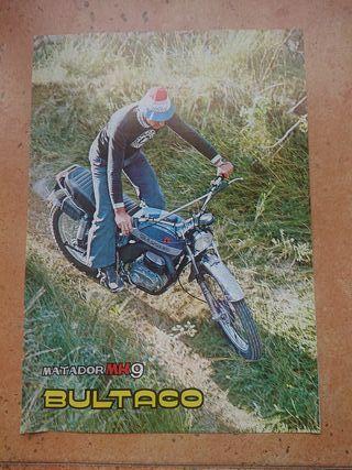 CATALOGO TECNICO ORIGINAL BULTACO MATADOR MK 9