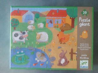 puzzle para niños grande