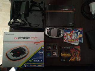 Móvil de coleccionista Nokia N-Gage QD completo