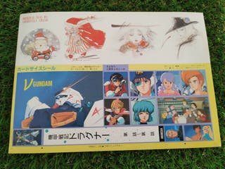 stickers pegatinas de varios animes . Yoshitaka Am