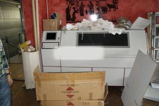 Impresora digital para diseños textiles SOPHIS
