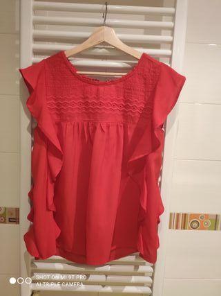 Blusa Roja ligera