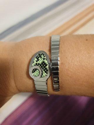 pulsera serpiente estilo bvlgary