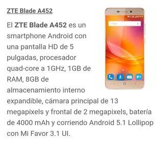 MOVIL ZTE BLADE A452