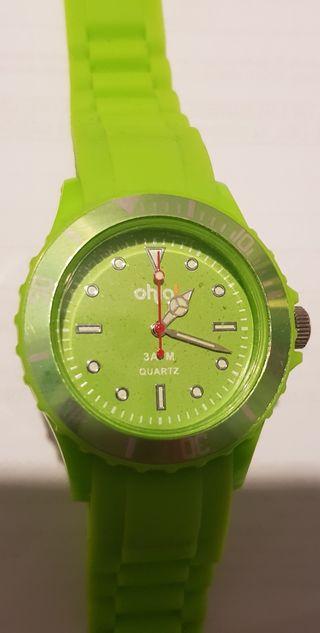 Reloj Ohla! verde deportivo casual