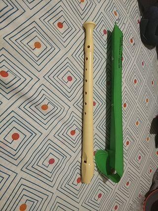 flauta y funda