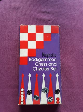Juego Backgammon y Damas