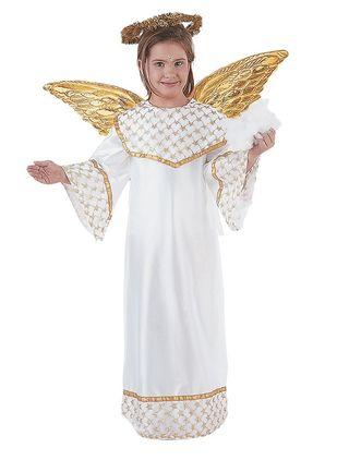 Angel Dorado.Disfraz Navidad Infantil