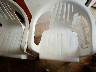 vendo dos sillas de jardín