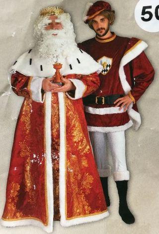 Paje Rey Mago.Disfraz Navidad Adulto