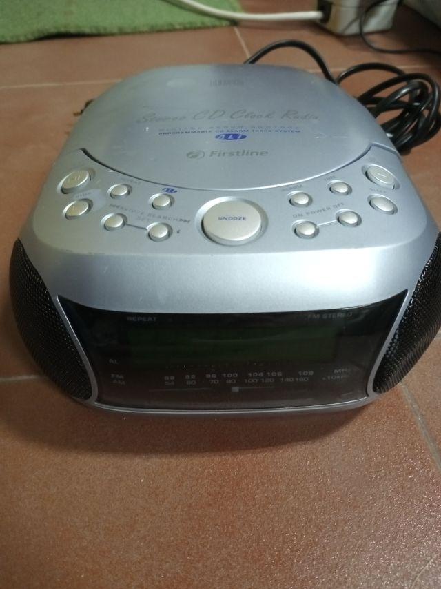 radio CD MP3 despertador