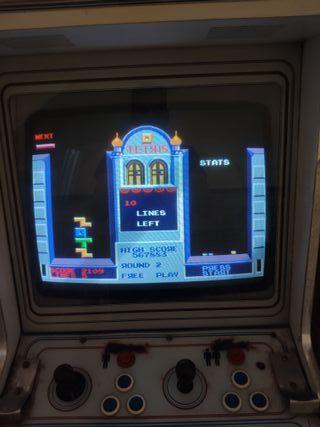 Maquina arcade antigua