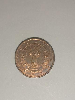 1 céntimo 2011 austria