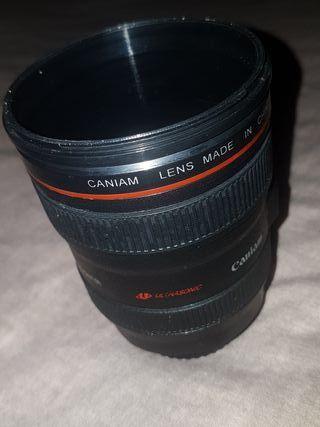 Camara mug lens