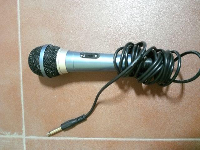 micrófono nuevo