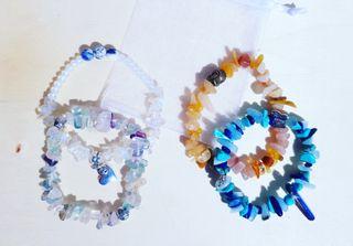 Set of 4 Healing bracelets