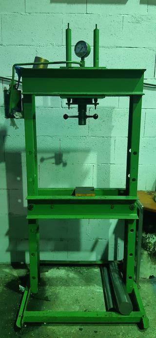 prensa manual hidráulica 40t