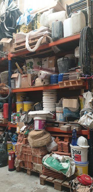Lote materiales y herramientas construccion