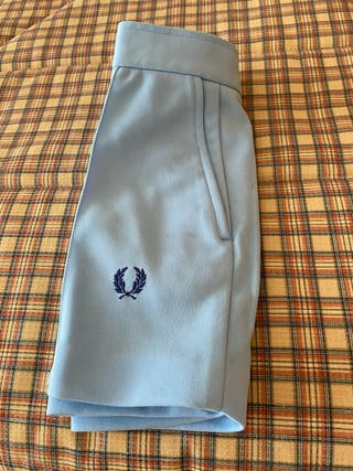 Short Fred Perry t 38 celeste