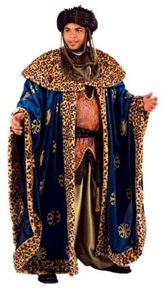 Rey Mago Baltasar.Disfraz Navidad Adulto