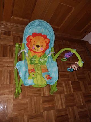 Hamaca trona bebé
