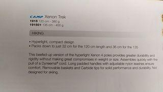 bastones CAMP Xenon trek 400g
