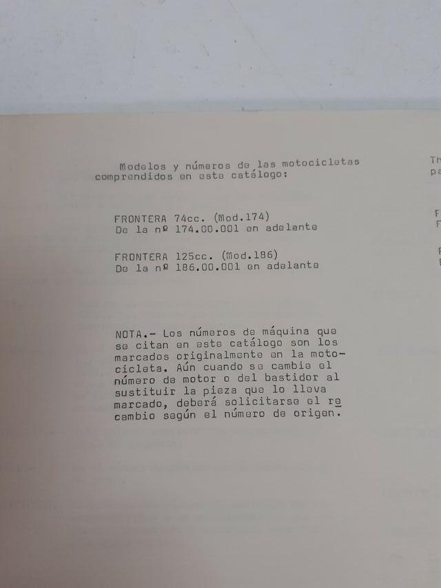 Catálogo de piezas BULTACO Ref. 686