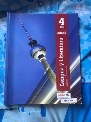 Libro castellano EDEBE 4 ESO