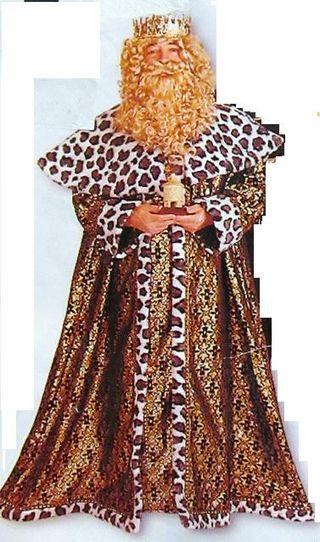 Rey Mago Gaspar.Disfraz Navidad Adulto