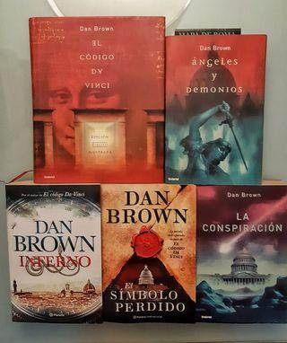 Colección 5 libros de Dan Brown