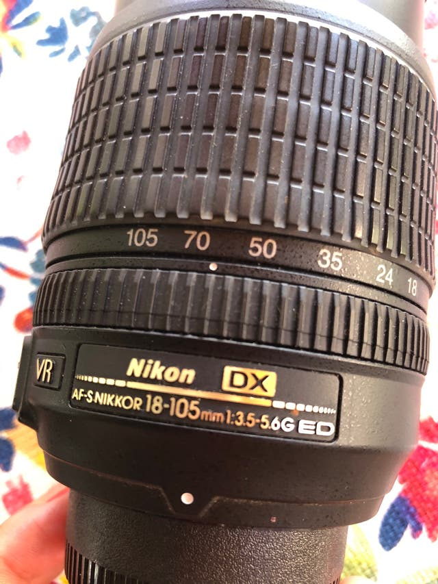Objetivo Nikon 18-105mm VR