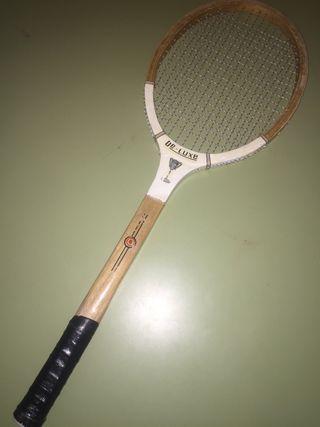 Raqueta de tenis RETRO VINTAGE DE-LUX