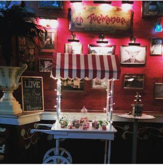 Carrito Candy Bar, Limonada, Expositor