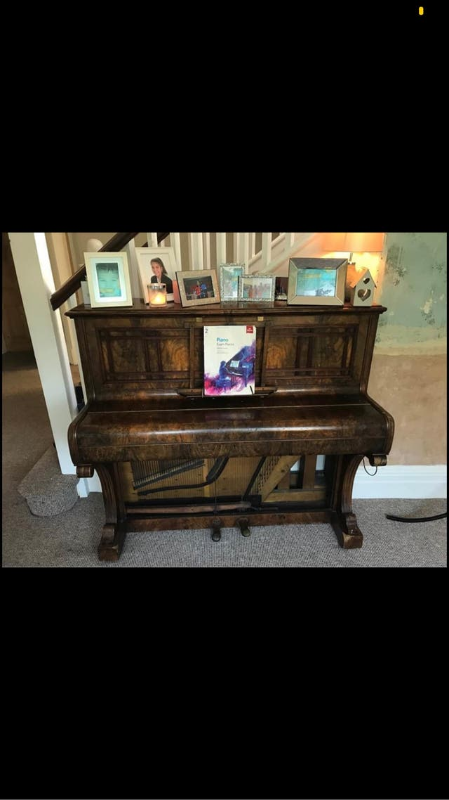 W.G.Eavestaff Sons piano