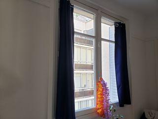 Rideaux occultants et porte rideaux sans trou