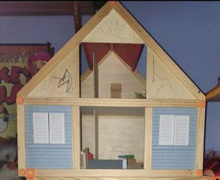casa de muñecas de madera lidl