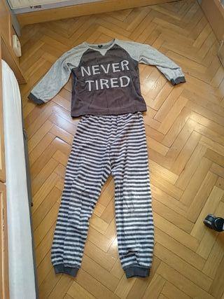Pijama rayas talla 138-143