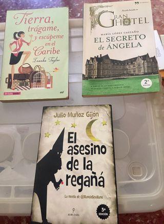 Selección de 3 libros