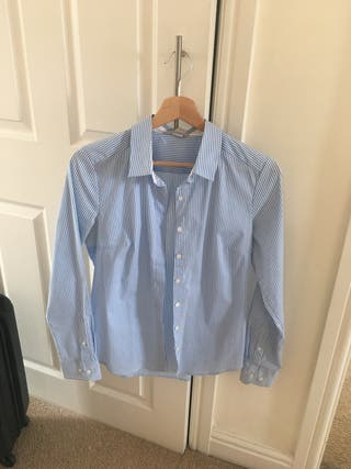 H&M blue shirts