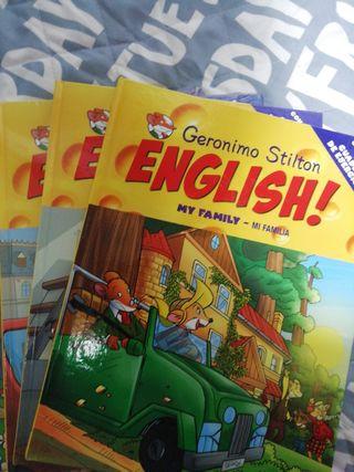 colección Geronimo Stilton English..