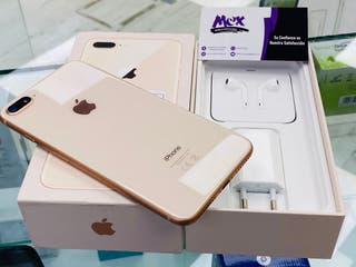 iPhone 8 Plus 64GB solo 2 semanas usado Impecable
