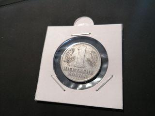 moneda de 1 Marco Alemania 1956