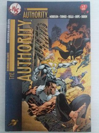 """Cómics """"The Authority"""" n° 1 a 6"""