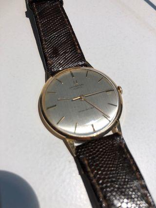 Reloj vintage universal geneve vanguard de oro